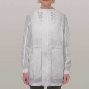 Lululemon In The Clear Jacket, White